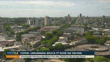 Cidades do Noroeste seguem com cronograma de imunização contra Covid-19 - Paraná recebe mais dose dos imunizantes.