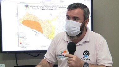 Meteorologista fala sobre a previsão do tempo na agricultura de Alagoas - Expectativa é de chuva nos próximos meses.