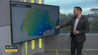 Veja a previsão do tempo para sábado, 11 - Destaque para o aumento da instabilidade por conta dos ventos que transportam umidade desde o norte do país
