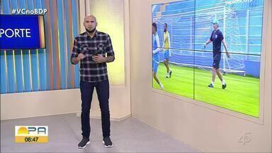 Gustavo Pêna comenta os destaques do esporte paraense nesta segunda-feira (13) - Gustavo Pêna comenta os destaques do esporte paraense nesta segunda-feira (13)