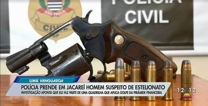 Acusado por golpe que vitimou Juliana Paes e outros famosos é preso em Jacareí - O homem estaria envolvido em uma quadrilha que aplica golpes de pirâmide financeira.