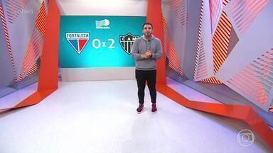 Com gols de Zaracho e Junior Alonso, Galo vence Fortaleza e aumenta vantagem na liderança - Com gols de Zaracho e Junior Alonso, Galo vence Fortaleza e aumenta vantagem na liderança