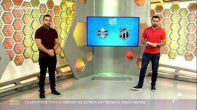 Daniel Rocha comenta o resultado do Grêmio x Ceará - Saiba mais em ge.globo/ce