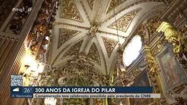 Missa marca 300 anos da construção da Catedral Nossa Senhora do Pilar em São João del Rei - A missa solene foi no domingo (12), com procissão, apresentação de orquestra e presença do presidente da CNBB.