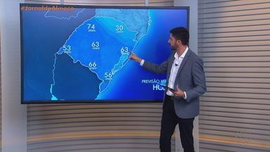 Tempo instável permanece no RS nesta terça (14) - A previsão é de chuva para todo o estado.