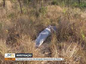 Polícia encontra corpo de advogado desaparecido em Balsas - Polícia segue investigação.