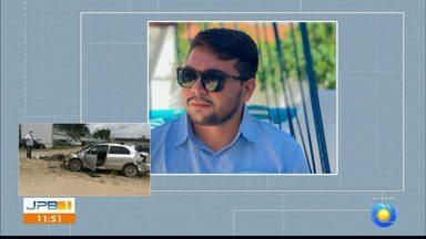 Justiça decreta prisão preventiva de condutor responsável pela morte de motoboy - O enterro do motoboy Kelton Marque causou grande comoção. A perícia no veículo que causou a colisão encontrou bebidas e drogas