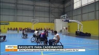 Grupo de cadeirantes mostra que ter deficiência não é desculpa para praticar esporte - Grupo de cadeirantes mostra que ter deficiência não é desculpa para praticar esporte