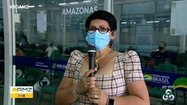 Em Manaus, Sine reabre para atendimento presencial - Em Manaus, Sine reabre para atendimento presencial.