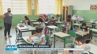Serrana, SP, aplica prova para avaliar nível de conhecimento dos estudantes - Avaliação será destinada a alunos do primeiro ao quinto ano do ensino fundamental.