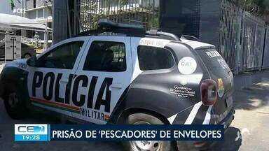 Polícia prende quadrilha que furtava dinheiro de caixas eletrônicos - Confira mais notícias em g1.globo.com/ce