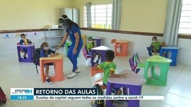 Escolas municipais adotam medidas para retorno de aulas presenciais em Boa Vista - Medidas sanitárias são necessárias para manter a segurança dos alunos e funcionários.