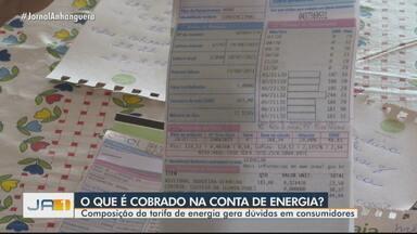 Consumidores ficam em dúvida sobre o que está sendo cobrado na taxa de energia elétrica - Veja explicações do que compõe as faturas de consumo.