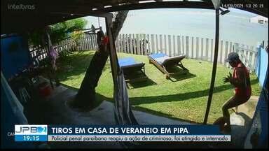 Policial penal paraibano é baleado em Pipa após reagir a assalto no dia de seu aniversário - Caso aconteceu na tarde desta terça-feira (14).