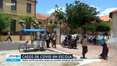 Parintins confirma casos de Covid em escola estadual - Parintins confirma casos de Covid em escola estadual