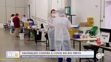 Veja informações sobre a vacinação contra a Covid-19 em Rio Preto - Veja informações sobre a vacinação contra a Covid-19 em São José do Rio Preto (SP) nesta quarta-feira (15).
