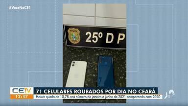 71 celulares são roubados em média por dia no Ceará - Saiba mais em g1.com.br/ce