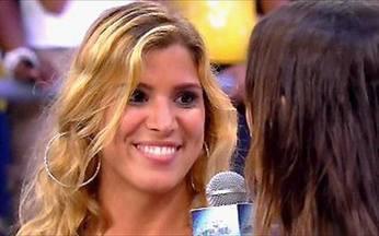 Sarah Oliveira entrevista Milena! - A repórter do Video Show conversa com a última eliminada do BBB 9.