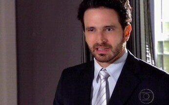 Murilo não aceita casamento de Tarso e Tônia - Ele alerta a irmã sobre Tarso e diz que ela não vai morar com ele.