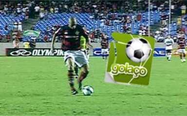 Golaço da 25ª rodada: Adriano, do Flamengo