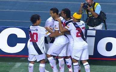 Os gols de Botafogo 0 x 6 Vasco pela 3ª rodada da Taça Guanabara 2010