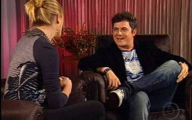 Fiorella Mattheis entrevista Alejandro Sanz no 'Vídeo Show'