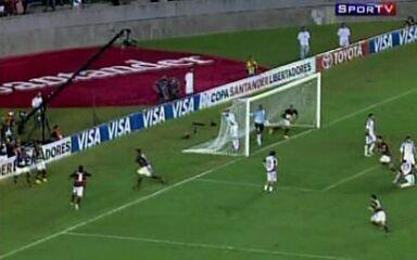 Melhores momentos de Flamengo 3 x 2 Caracas-VEN pela Taça Libertadores 2010
