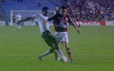 Melhores momentos de Flamengo 1 x 0 Corinthians pelas oitavas da Libertadores 2010