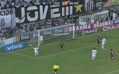 Melhores momentos de Santos 0 x 1 Fluminense, em 2010: Gum conseguiu parar Neymar