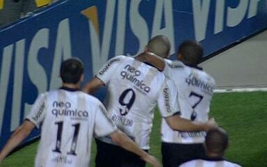 O gol de Corinthians 1 x 0 Cruzeiro pela 35ª rodada do Brasileirão 2010
