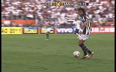 Primeiro jogo: Corinthians 0 x 0 Santos