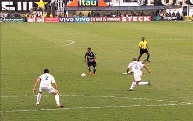 Segundo jogo: Santos 2 x 1 Corinthians