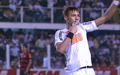 Gol do Santos! Após jogada sensacional, Neymar amplia aos 25 do 1º tempo