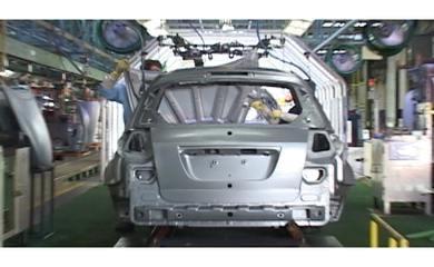 G1 mostra como nasce um carro