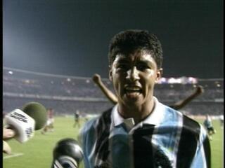 Grêmio vence o Flamengo por 1 a 0 e se classifica para a final da Copa do Brasil 1995