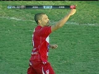 Os gols de ASA 2 x 4 CRB pela 38ª rodada da Série B do Brasileirão 2012