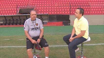 Vadão fala sobre momento do Sport, no início de 2013