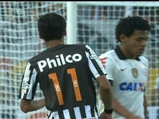 Primeiro jogo: Corinthians 2 x 1 Santos