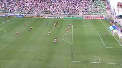 Atlético-MG vence o Flamengo com golaço de Lucas Cândido