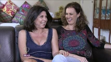 No 'Mais Você', Márcia Cabrita e Ângela Dip falaram da beleza depois dos 50 anos
