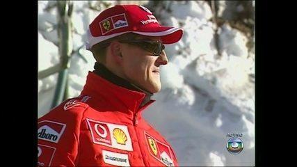 Em 2013, Michael Schumacher sofre grave acidente esquiando