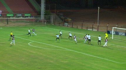 O gol de Desportiva Ferroviária 1 x 0 ABC pela Copa do Brasil 2014