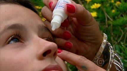 Conjuntivite pode ser causada por vírus ou bactérias