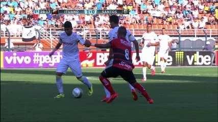 Primeiro jogo: Ituano 1 x 0 Santos