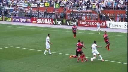 Segundo jogo: Santos 1 (6) x (7) 0 Ituano
