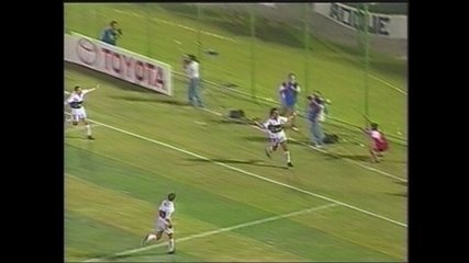 Em 1999, Olímpia vence o Palmeiras por 4 a 2 pela Taça Libertadores