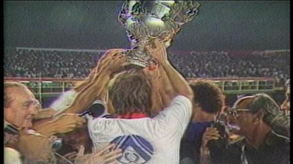 Supercopa 1991: Cruzeiro faz 3 a 0 no River Plate e conquista o título