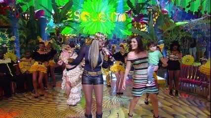 Ludmilla coloca Juliana Paes para requebrar com 'Hoje'