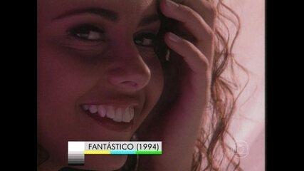 Relembre como era Vivi Araújo como candidata a garota do Fantástico