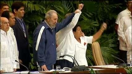 Fidel Castro fala sobre a reaproximação entre Cuba e os Estados Unidos
